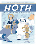 Star Wars Superhero Artwork Hoth: Protect our Wildlife